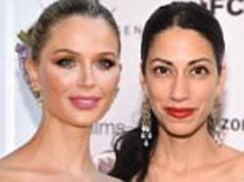 weinstein's wife reaches out to huma abedin for support