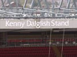 kenny dalglish: to get your name on the stand is fantastic