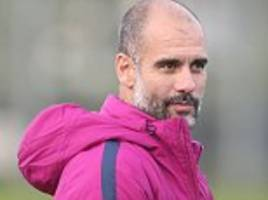 Pep Guardiola says he's blown away by Manchester City