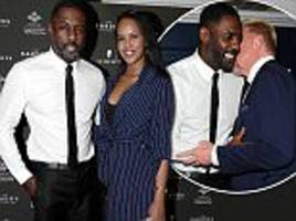 idris elba is joined by girlfriend sabrina dhowre at gala