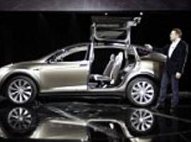 Tesla recalling 11,000 Model X SUVs for seat issue