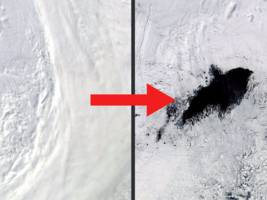 a mysterious 'hole' larger than maryland has reappeared on antarctica after 42 years