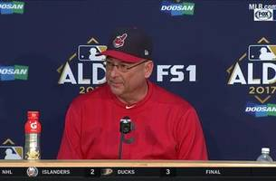 terry francona: 'we win together, and we lost together'