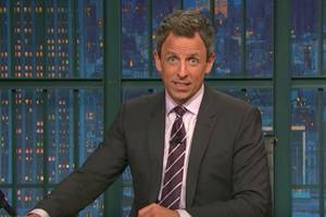 seth meyers throws eminem-style trump gauntlet at his fans (video)