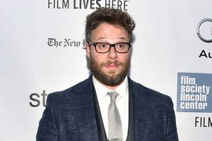 seth rogen to donald trump jr.: 'your father is a sexual predator'