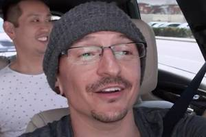watch chester bennington's 'carpool karaoke' episode filmed days before his death (video)