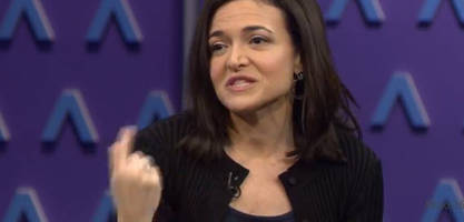 facebook's sandberg: we really have to go after fake accounts, but divisiveness not a reason to remove content