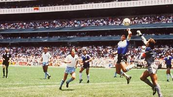 would video technology have prevented maradona's 'hand of god'?