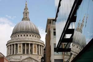 woman falls to her death in plunge from st paul's cathedral in london
