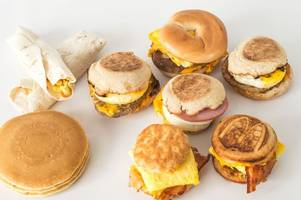 you can now have a mcdonald's delivered to your door in exeter - including breakfast