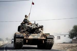 First Turkish Military Convoy Enters Syria's Idlib Province