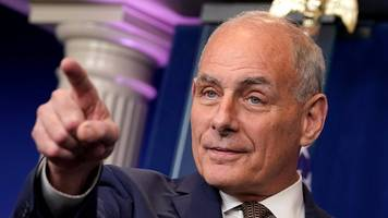 John Kelly on running Trump's White House