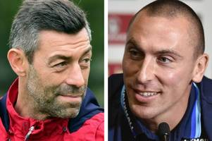 rangers boss pedro caixinha and celtic skipper scott brown come under fire on the hotline