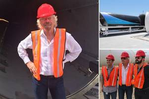 Sir Richard Branson to build futuristic train line that will carry passengers from Edinburgh to London in 45 minutes