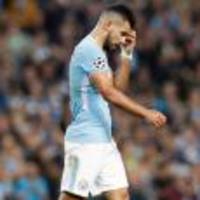 Man City striker Sergio Aguero thankful car-crash injuries weren't more serious