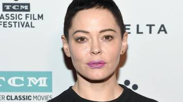 Rose McGowan, one of Harvey Weinstein's accusers, suspended by Twitter