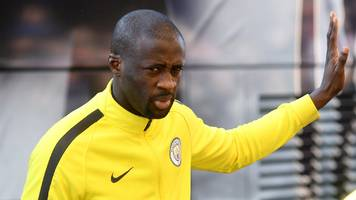 Yaya Toure: Man City midfielder offers to help Russian government before World Cup