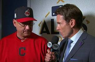Terry Francona discusses the Indians' elimination