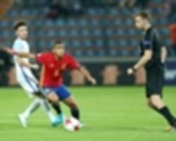 u17 world cup: spain 2-0 dpr korea - elegant la rojita book ticket to the round of 16