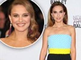foods natalie portman's cut out to clear her adult acne