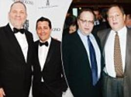 Harveys brother Bob Weinstein David Glasser could be fired