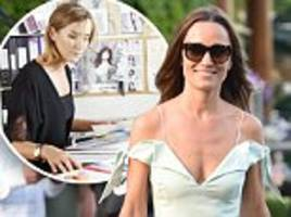 pippa middleton loves chessie grievson's tephi designs