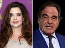Playboy Playmate accuses Oliver Stone of groping breast