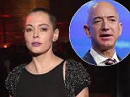 Rose McGowan asks men for support after Weinstein claim