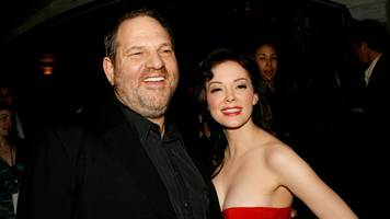 Harvey Weinstein: US actress Rose McGowan makes rape allegation