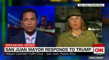 angry san juan mayor lashes out (again): big mouth president taking all his anger out on puerto rico