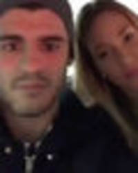 Chelsea's Alvaro Morata and stunning wife share vid of them in London cab amid injury woes