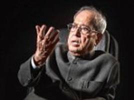 Pranab Mukherjee talks on the demise and rise of Congress