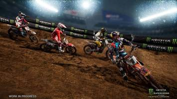 Hands-On: Monster Energy Supercross is More Exciting Than Soft Drinks