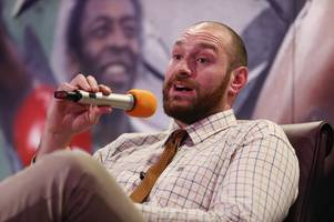 tyson fury reveals plans to fight three times in 2018
