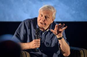 here's what happened when david attenborough visited the south west this week