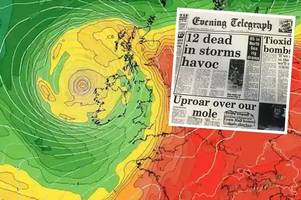 Remnants of Hurricane Ophelia to hit on 30th anniversary of the Great Storm of 1987