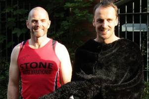 determined duo wait to hear if their marathon effort as a pantomime horse has put them in the guinness world records