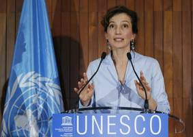 unesco chooses former french culture minister as new chief after u.s. pulls out