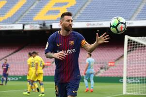 Lionel Messi 'considering Manchester City move' as Barcelona contract standoff continues