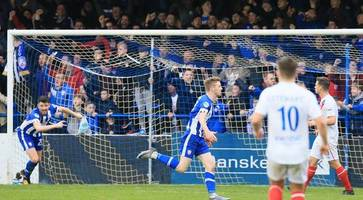 irish league round-up: leaders coleraine beat linfield to go five points clear