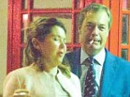 nigel farage's wife of 18 years moves out of family home