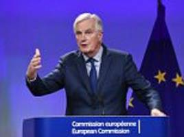 barnier is ready to push the uk off a cliff