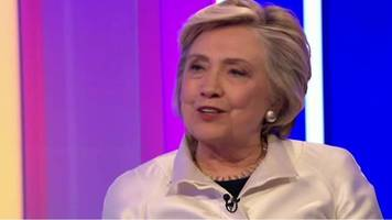 hillary clinton: 'chardonnay helped me through defeat'