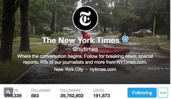 The NYTimes Asks Reporters To Please Refrain From Publishing Partisan Attacks On Twitter