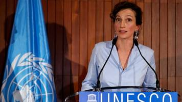 audrey azoulay to be next unesco chief