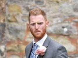 ben stokes spotted with a bandage on his hand at wedding
