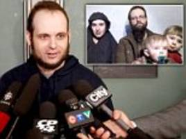 Canadian hostage says captors raped wife, killed daughter