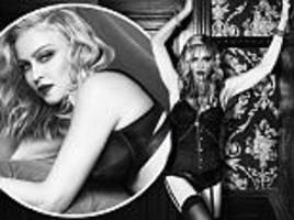 madonna, 59, dons lingerie to hawk her new skincare line