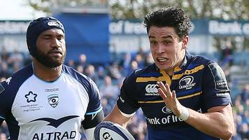 Leinster clinch bonus-point win over Montpellier