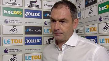 swansea city 2-0 huddersfield town: paul clement pleased with 'important' win for swans